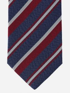 Corbata Brera de Rayas