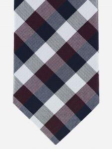 Corbata Torino Cuadros Tricolor