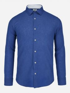 Camisa casual de lino