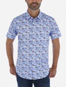 Camisa Casual Manga Corta