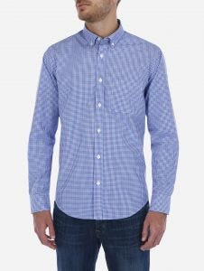 Camisa Casual a Cuadros Essentials