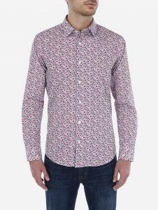 Camisa Casual Print Floral