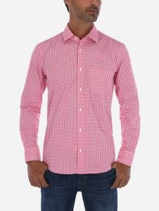 Camisa Casual Vichy Essentials