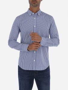 Camisa Casual Mini Cuadros Vichy