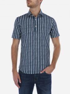 Camisa Lino Algodon a Rayas