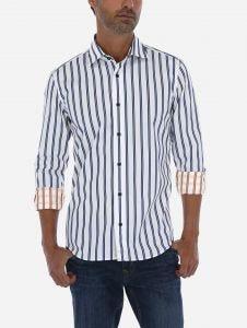 Camisa Casual de Rayas con dos vistas 38 Edition