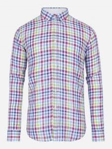 Camisa Lino a Cuadros