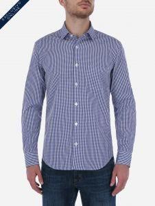 Camisa de Cuadros Vichy Marino