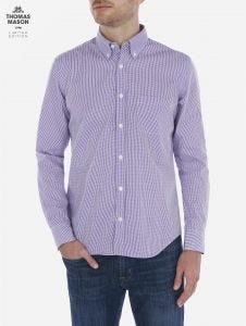 Camisa de Micro Cuadros Thomas Mason by Scappino