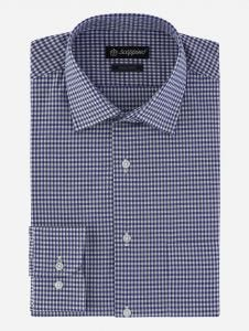 Camisa de vestir de cuadros vichy