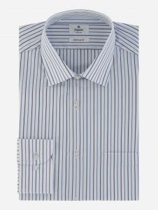 Camisa Vestir a Rayas Stretch