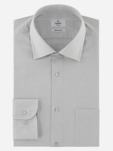 Camisa de Vestir Gris Claro