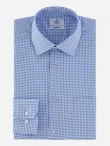 Camisa Cuadros Vichy Maquinilla Stretch