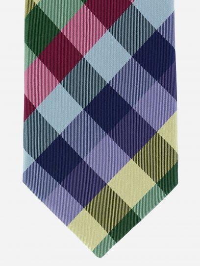 Corbata Brera de Cuadros