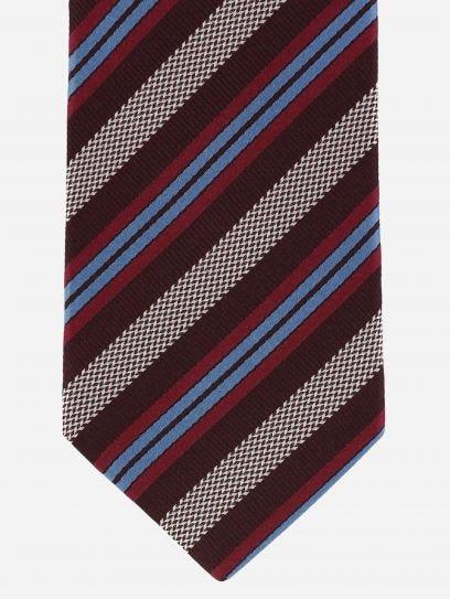 Corbata Brera Rayas en Sombra Pastel