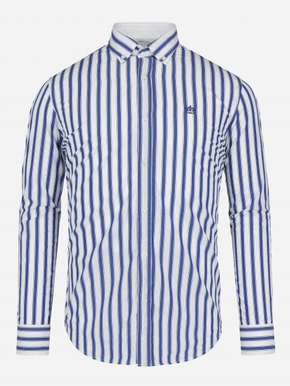 Camisa Casual de lineas en sombra
