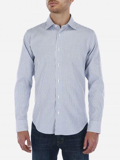 Camisa Casual de Rayas