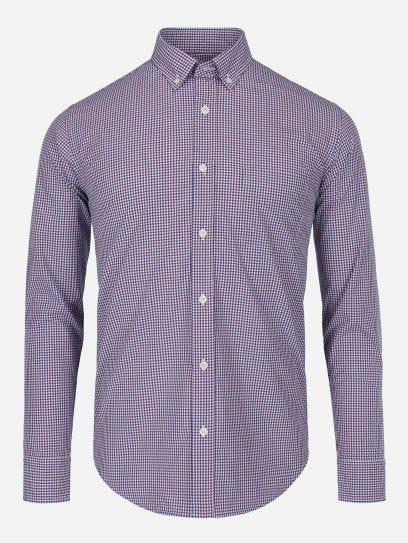 Camisa Casual a Cuadros Essentials