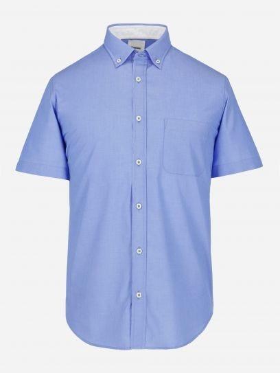 Camisa Casual Lisa Manga Corta