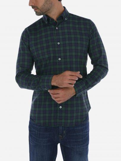 Camisa Casual Algodon Lyocell