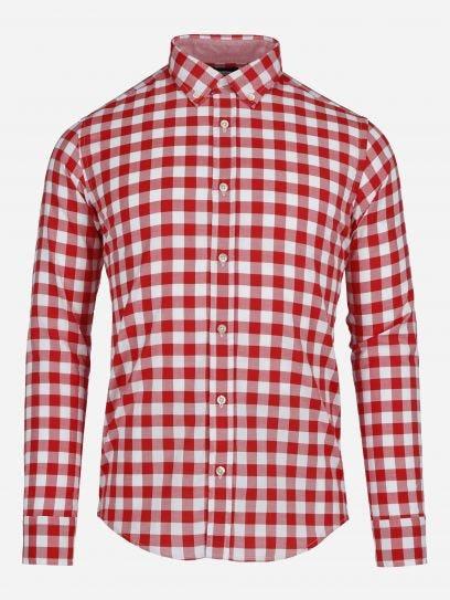 Camisa Casual de Cuadros Vichy