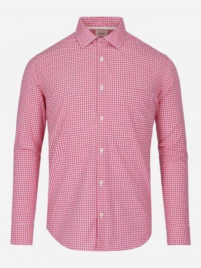 Camisa Casual Vichy Essentials