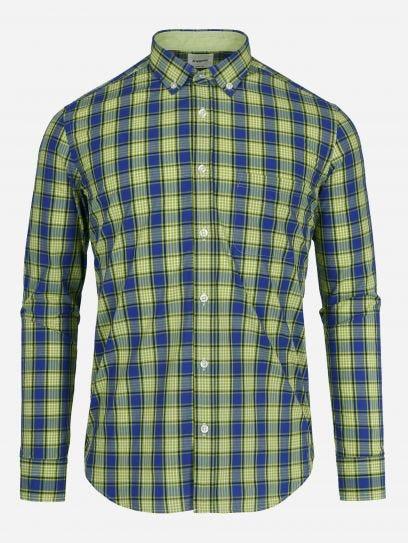 Camisa Casual de Multicuadros