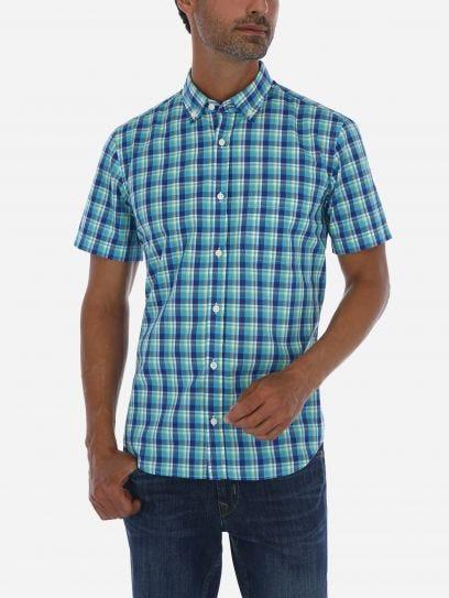 Camisa Casual Multicuadros
