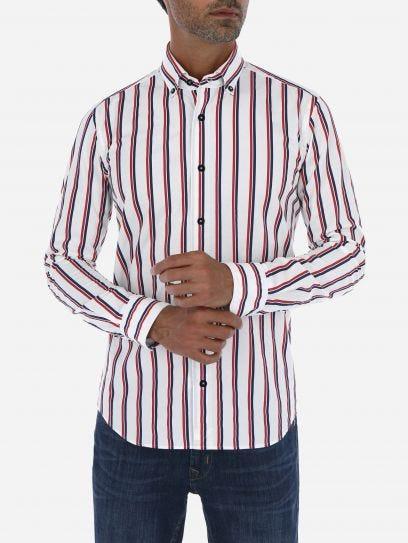 Camisa Casual de Lineas en Sombra 38 Edition