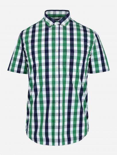 Camisa de Cuadros Vichy Manga Corta