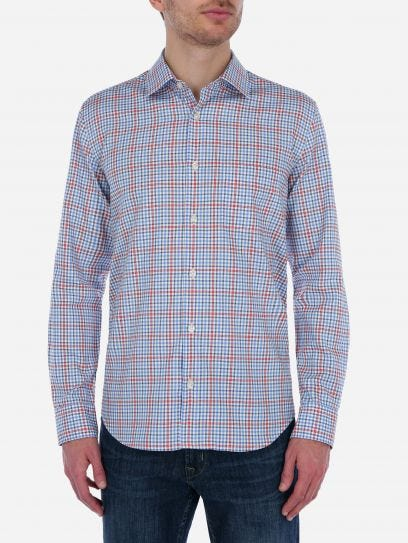 Camisa de Multicuadros Oxford