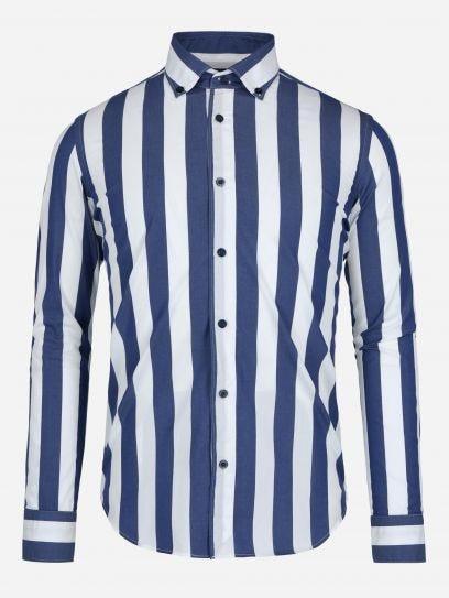 Camisa de Rayas Popelina