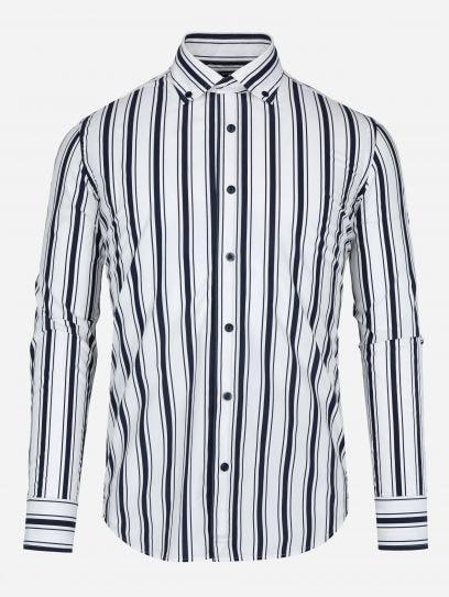 Camisa de Rayas en Sombra