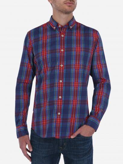 Camisa Casual Tartan