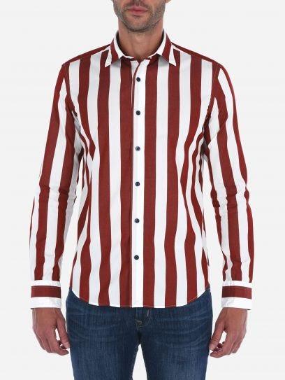 Camisa de Rayas Gruesas