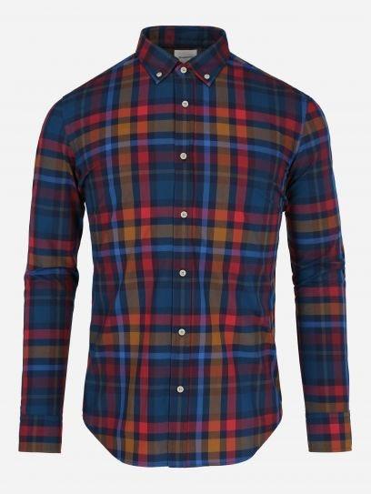 Camisa Multicuadros Oxford