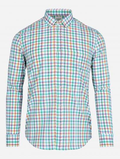 Camisa de Multicuadros Maquinilla