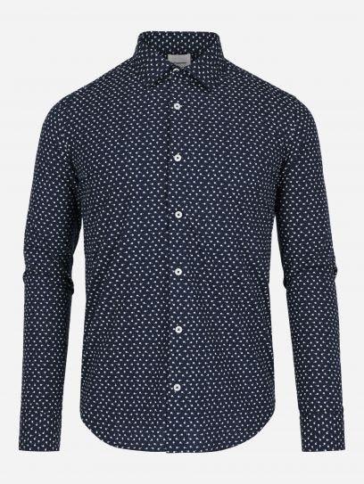 Camisa Casual Palmeras