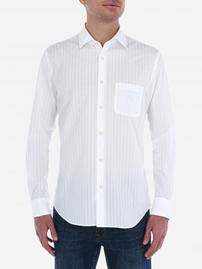 Seersucker Solid Shirt