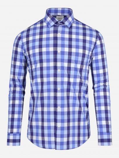 Camisa Vichy Monocromatica
