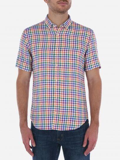 Camisa de Lino Vichy