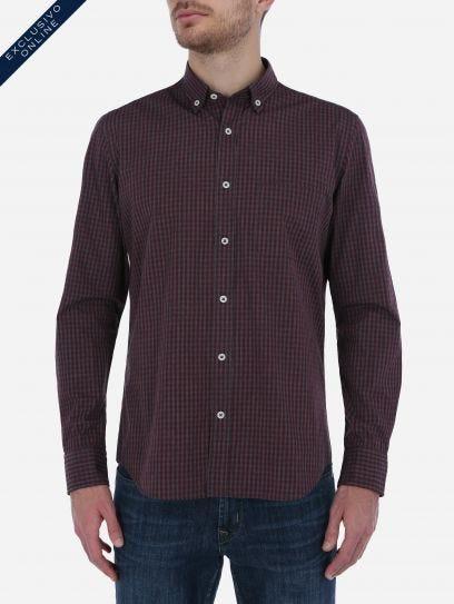Camisa de Mini Cuadros Vichy