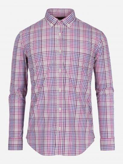 Camisa Casual Rosa