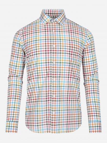 Camisa de Cuadros Multicolor Thomas Mason by Scappino