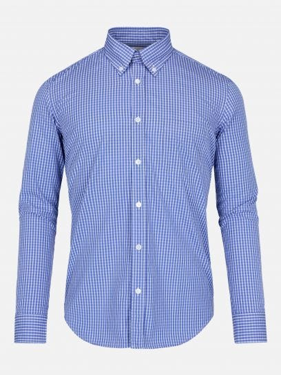 Camisa de Mini Cuadros Thomas Mason by Scappino