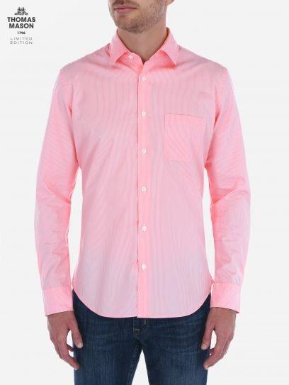 Camisa de Rayas Finas Thomas Mason by Scappino