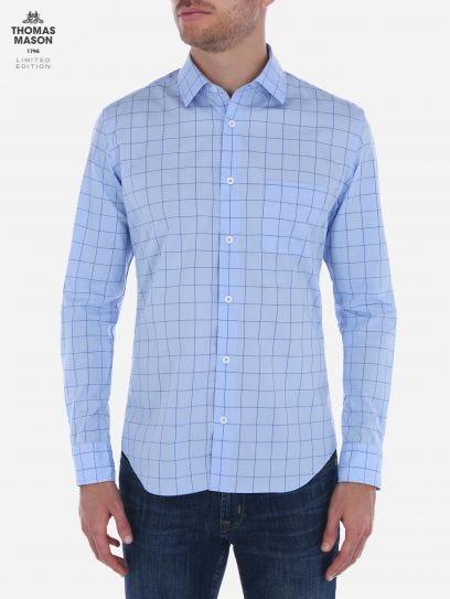 Camisa de Ventanas Thomas Mason by Scappino