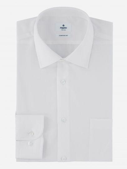 Camisa de Vestir Basica Blanca