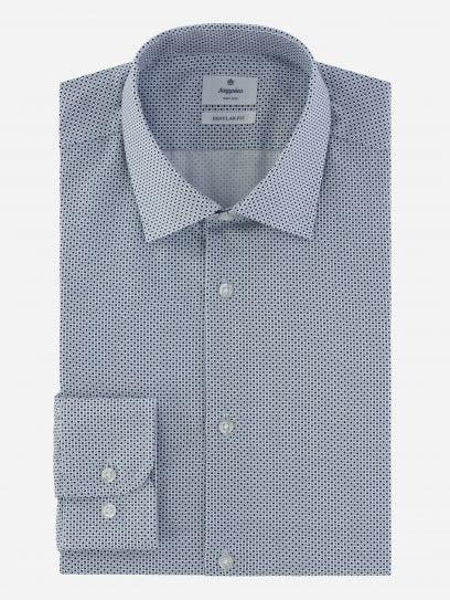 Camisa de Vestir Print