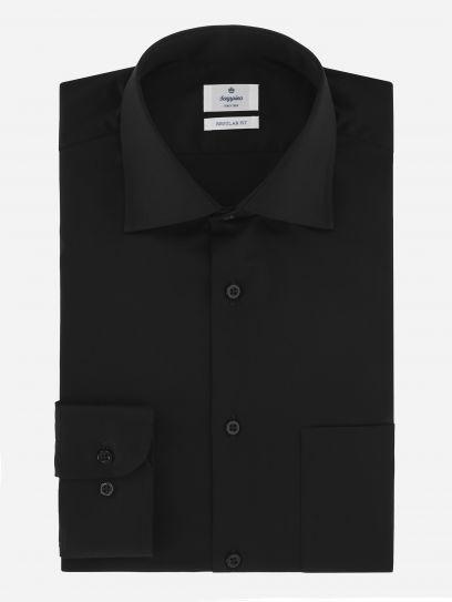 Camisa de Vestir Strech Negra